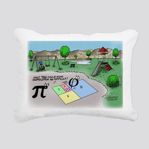 Pi_65 Fibonacci Hopscotc Rectangular Canvas Pillow